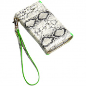 JAVOedge - Snake Print Wallet Case for Apple iPhone 4 / 4S