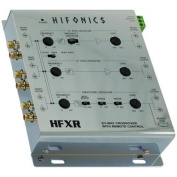 Hifonics - 2- or 4-Channel Electronic Crossover for Select Aftermarket Vehicle Stereo Systems - Black