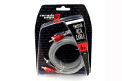 Cerwin-Vega! - CRH6 1.8m HED Series Twisted RCA Cable - Clear