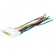 Scosche - Wiring Harness for Select 1995 or Later Acura, Isuzu and Honda Vehicles