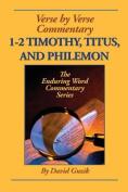 1-2 Timothy, Titus, Philemon