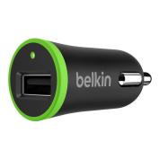 Belkin BOOSTUP, 2.4A USB Car Charger -Black