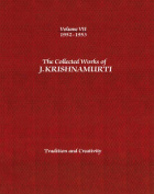 The Collected Works of J.Krishnamurti  - Volume VII 1952-1953