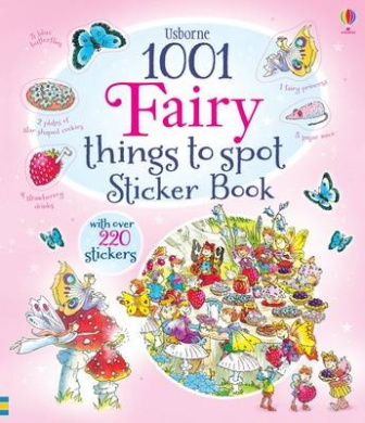 1001 Fairy Things to Spot Sticker Book (1001 Things to Spot Sticker Books)