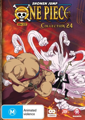 One Piece (Uncut) Collection 24 (Season 5 Episodes 288-299)