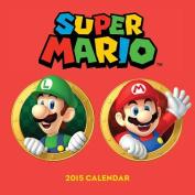 Super Mario Brothers 2015 Wall Calendar