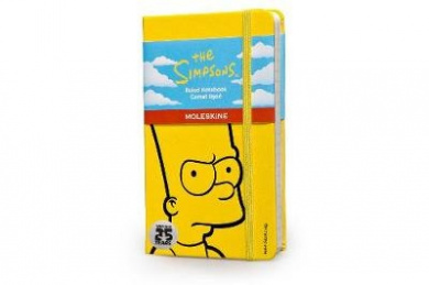 Moleskine The Simpsons Limited Edition Hard Yellow Ruled Pocket Notebook (Moleskine Limited Edition)