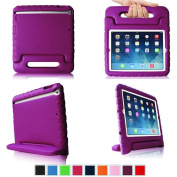 Fintie iPad Air Kiddie Case - Light Weight Shock Proof Convertible Handle Stand Kids Friendly for Apple iPad Air 5 - Purple