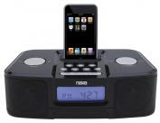 NAXA Electronics NI-3103A Digital Alarm Clock Radio with Dock for iPod and iPhone