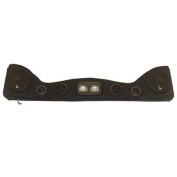 Vertically Driven Products 792515 6 Speaker Overhead Sound Bar with Dome Lights