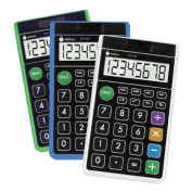 Datexx Hybrid Wallet Style Calculator Assorted Colours