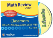 NewPath Learning Math Interactive Whiteboard CD-ROM, Site Licence, Grade 6