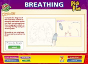 Daydream Education Breathing interactive Whiteboard Chart
