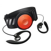 Philips GoGEAR FitDot 4GB MP3 Player - Black/Orange