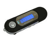 Generic M6 Black Digital Mp3 Player for 2gb 4gb 8gb Tf/micro Sd Card Backlight LED