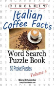 Circle It, Italian Coffee Facts, Word Search, Puzzle Book