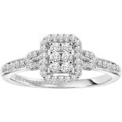 Keepsake Attraction 1/4 Carat T.W. Diamond Engagement Ring in 10kt White Gold