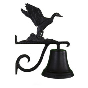 Montague Metal Cast Bell with Black Duck Orament