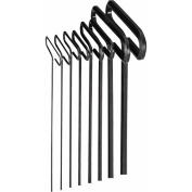 8Pc. 15cm . SAE Hex T-Key Set