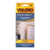 hook and loop Sticky Back Tape, White, 1.8m