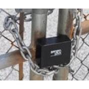 Ranger Lock RGCJ-00 Junior Chain Lock Guard protects 2.5cm locks from being cut