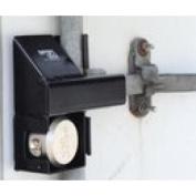 Ranger Lock RDSC-HP Crossbar locks swing door eliminating most cutting concerns