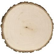 Basswood Country Round Plaque-28cm x 28cm x 1-1.6cm