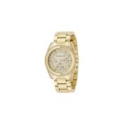 Michael Kors MK5166 Womens Gold Tone Link Bracelet Crystals Quartz Chronograph Watch