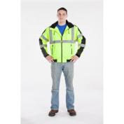 Utility Pro Wear UHV575L4XL High Visibility Green Waterproof 3-Season Jacket - 4X-Large