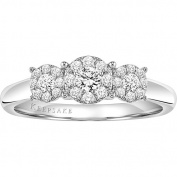 Keepsake Harmony 3/8 Carat T.W. Certified Diamond Sterling Silver Engagement Ring