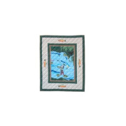Patch Magic Fly Fishing Crib Quilt