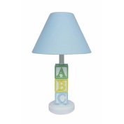 ABC Lamp, Blue Shade