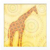 Timeless Frames Baby Giraffe Framed Art, 10x8