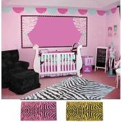 Fun Rugs Zebra Skin Print Rug