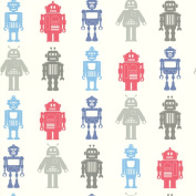Brewster Home Fashions Robot League Wallpaper