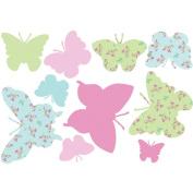 Fun4Walls Pastel Butterflies Wall Decals