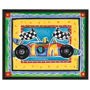 Timeless Frames Race Car Framed Art, 10x8