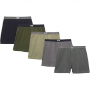 Fruit of the Loom Men's Knit Boxers, 5-Pack