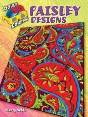 3-D Coloring Book--Paisley Designs (Dover 3-D Coloring Book)