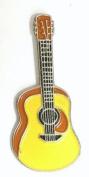 Metal Enamel Pin Badge Brooch Rock Folk Spanish Acoustic Guitar