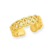 14ct Celtic Toe Ring - JewelryWeb