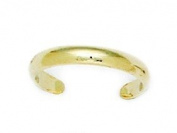 14ct Yellow Gold Adjustable Elegant Body Jewellery Toe Ring - JewelryWeb