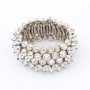 Punk Style Atmosphere Stretch Bracelet