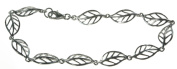 Contemporary 925 Sterling Silver Ladies Bracelet - 19cm*7mm