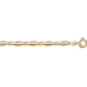 9ct yelow gold london transport link bracelet