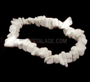 Howlite Gemstone Chip Bracelet