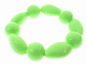 Glitz4Girlz Lime Beaded Bracelet