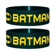 Batman - Wristband Text And Logo