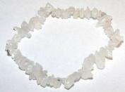 Rainbow Moonstone Gemstone Chip Bracelet