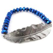 """Bracelet creator """"Minéralia"""" blue."""